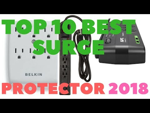Top 10 Best surge protector 2018