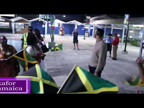 Dr Chris arrives in Kingston Jamaica