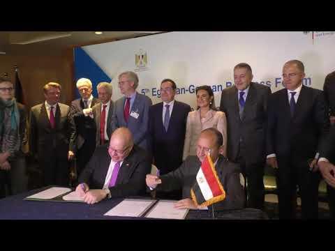 مصر والمانيا توقعان وثيقة مشتركة لتعزيز الشراكة الاقتصادية بين البلدين