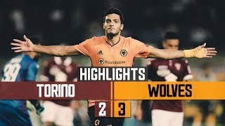 Highlights from the Europa League play off between Torino & Wolves in Turin.