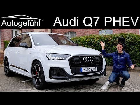 Audi Q7 S-line Facelift FULL REVIEW with 60 TFSI e quattro new PHEV
