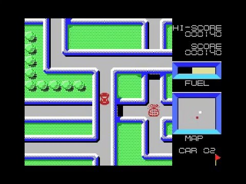 High Way Star (1983, MSX, Way Limit Corporation)