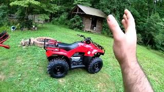 SURPRISE! I Bought My Wife A New 4 Wheeler! Honda Recon 250