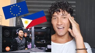 """Mister World Europe Reacts to Marcelito Pomoy! 