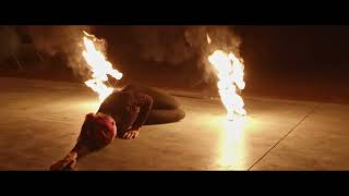 Virtual Burning Man Fire Performance // Cinematic FPV Fire Spinning