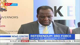 CoG push for Referendum, propose for expansion of National Executive