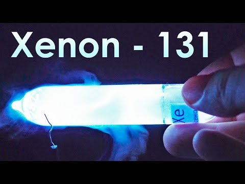 Xenon  - THE BRIGHTEST Gas on Earth!
