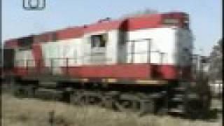 preview picture of video 'Tren de ALL entrando a Laboulaye'