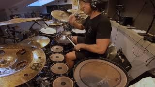 "Thomas Lang recording ""Zero Gravity"" for Javier Salinas Session"