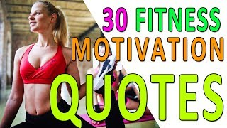 30 Best Fitness Motivation Quotes (Workout Inspiration)