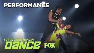 Daniela Avanzini and Jonathan Platero. So You Think You can Dance. Salsa.