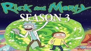 Adult Swim Bump (8/11/17) Rick and Morty S3 E4 Update