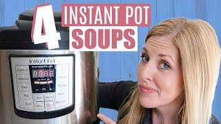 The BEST Instant Pot Fall Soups! Dump and Go Recipes - Perfect for Beginners