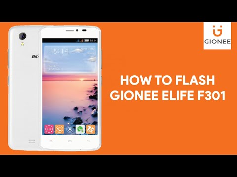 How To Flash Gionee Elife F301 -  [romshillzz]