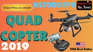Quad Copter 2019 | Holy Stone HS700D FPV Drone with 2K FHD Camera Live Video and GPS Return Home RC