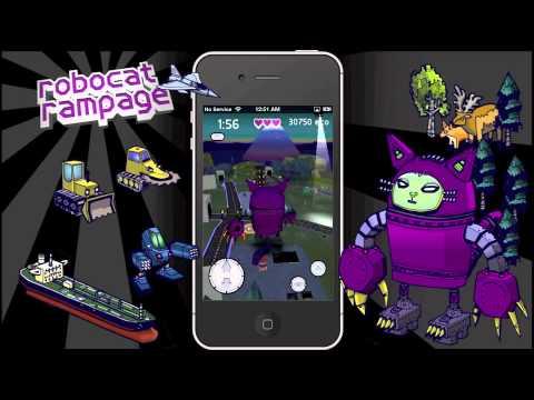 Video of Robocat Rampage
