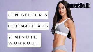 Jen Selter Ab Workout: 7 Minute Circuit