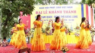 Múa Lạy Phật Quan Âm,  Tại Chùa Lôi Tử  Lưu Xá  Phú Túc  Phú Xuyên Ngày 06082017