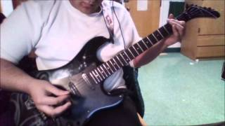 Lost Behind The Wall - Dokken (Guitar Cover HD)