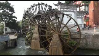 Video : China : The old town of LiJiang 丽江, YunNan province