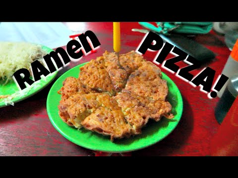 INDONESIAN FOOD JOURNEY | RAMEN PIZZA