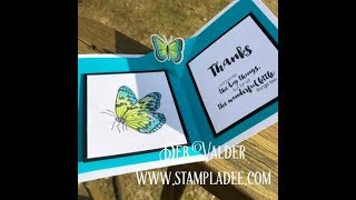 Fun Stampers Journey Pop Up Butterfly with Deb Valder