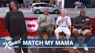 Guest Host Anthony Anderson Finds His Mama a Man on Hollywood Blvd