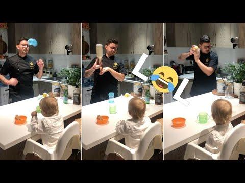 Bartender Creates Adorable Tinytini For Toddler Son