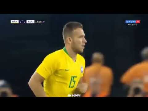 Le Match d'Arthur Melo vs USA