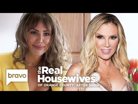 Kelly Dodd on the First Time She Met Her Fiancé via Ramona Singer   RHOC After Show (S14 Ep16)