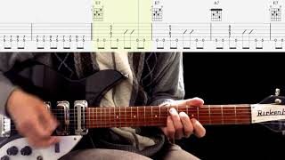 Guitar TAB : I Saw Her Standing There (Rhythm Guitar) - The Beatles
