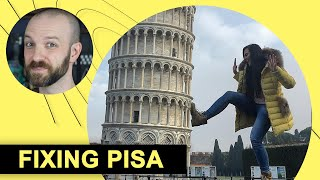 Why Does Pisa's Tower Lean? (And How to Fix It) | NOW I KNOW