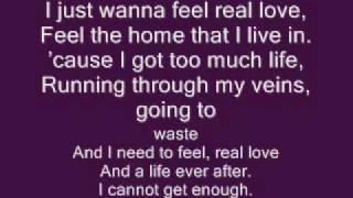 YouTube video E-card Robbie Williams Feel Lyrics
