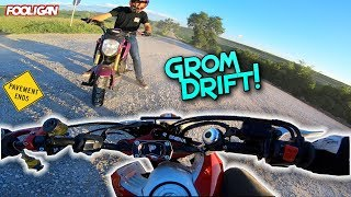 Off-Road Exploring | We Joined Another Grom Squad