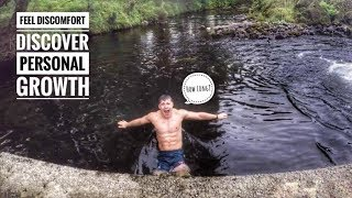 Icy River Plunge Builds Confidence | Finn Glenn | Ireland's Personal Trainer