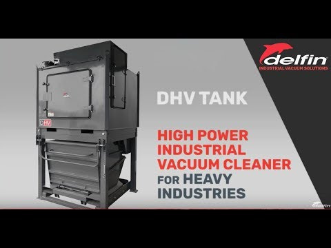 Delfin Industrial Vacuum With  High -Performance + B5 Lobe Pump For Heavy Industry Solution