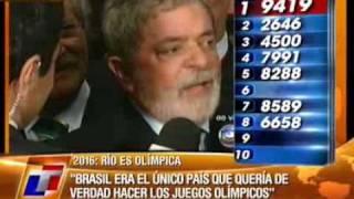 Rio 2016: A TV da Argentina mostrou tudo ao vivo