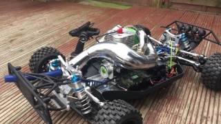 LOSI 5IVE T Most Hopped Up & Custom  Built 5T on the planet
