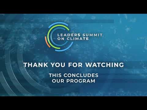 Watch LIVE: President Biden Makes A Commitment  At The Leaders Summit On Climate