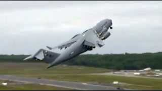 Boeing C-17 Globemaster crash B-52 Jet Crash All Hell breaks loose video