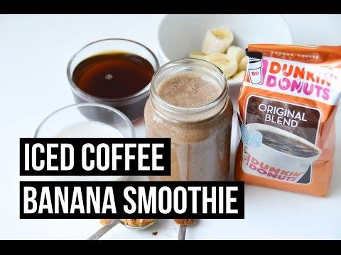 Iced Coffee Banana Smoothie Recipe