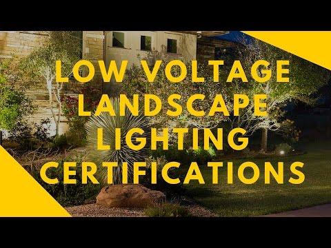 Landscape Lighting Certifications - YouTube