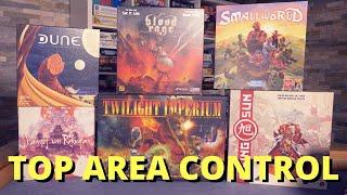 Spiele die besser sind als Risiko! - Top Area Control Brettspiele