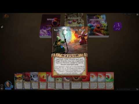 Learn to Play Magicka Mayhem Card Game: Tutorial Video #2 - Mayhem Card Anatomy