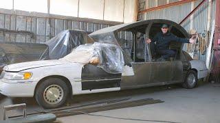 Самодельный лимузин, Капсула-Карета готова.Экскалибур набор изготовлен.