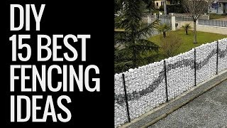 Beautiful Fencing Ideas | Creative Ways To Protect Your Garden From Outside Threats