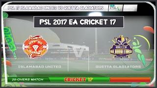 Ea Sports Cricket 2017 Gameplay Psl म फ त