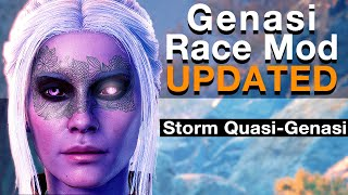 Genasi Race Mod - UPDATED