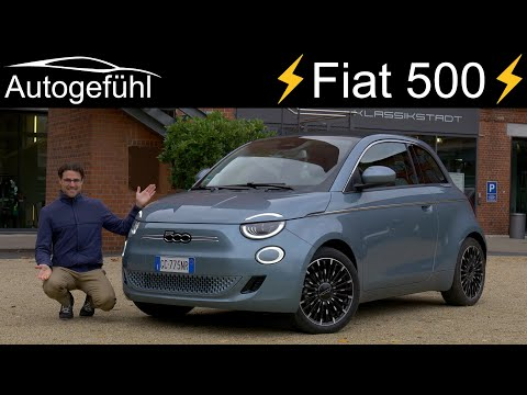 all-new Fiat 500 FULL REVIEW The 2021 EV surprise! Convertible vs Hatch vs 3+1