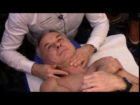 Massaggio cervicale colonna toracica